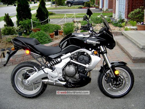 Kawasaki Versys - Black, Right Side