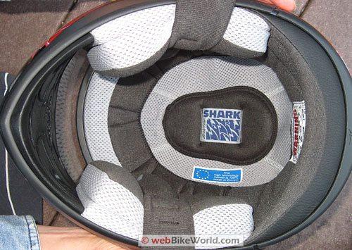 Shark S 650 Helmet - Helmet Liner