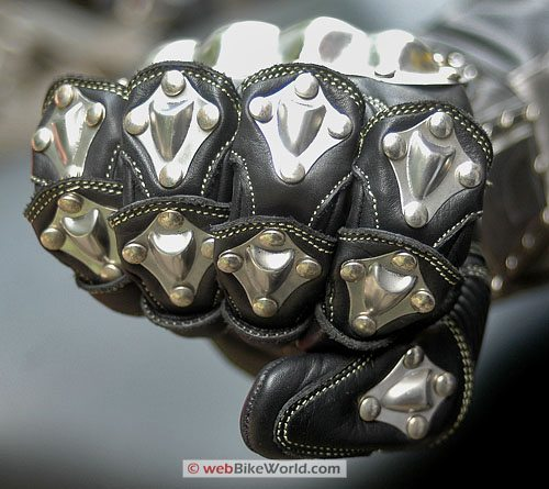 Velocity Gear SS Metalwear Gloves - Knuckles