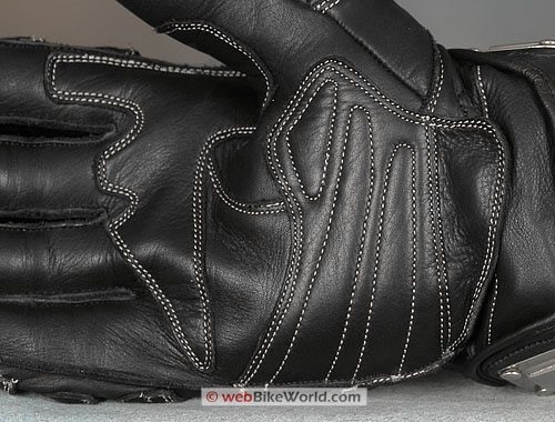 Velocity Gear SS Metalwear Gloves - Palm Close-up