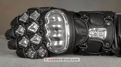 Velocity Gear SS Metalwear Gloves - Top View