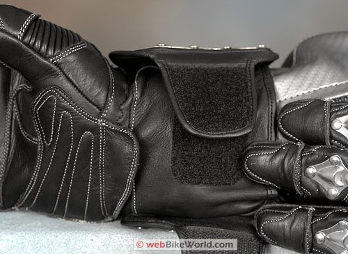 Velocity Gear SS Metalwear Gloves - Wrist Cuff Closure