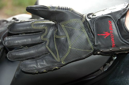 Velocity Gear SS Metalwear Gloves Bottom