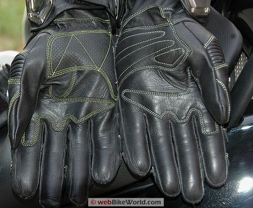 Velocity Gear SS Metalwear Gloves Palms