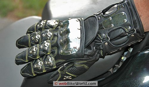 Velocity Gear SS Metalwear Gloves Top
