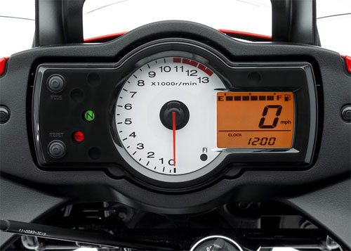 Kawasaki Versys - Instruments Close-up