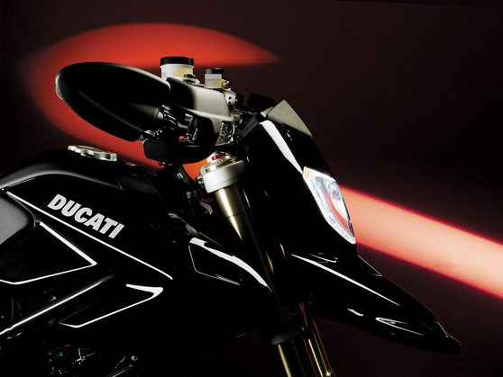 2008 Ducati Hypermotard - Front View