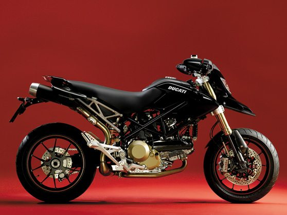 2008 Ducati Hypermotard - Side View