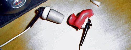 Custom Molded Earphone Speakers