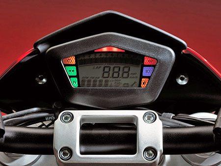 Ducati Hypermotoard - Dashboard