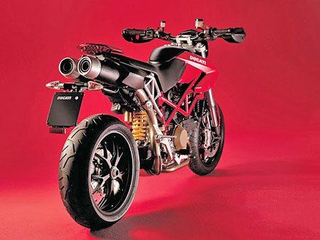 Ducati Hypermotoard - Rear View