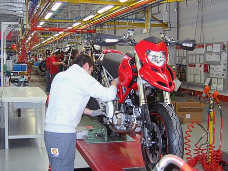 Ducati Hypermotard In Production