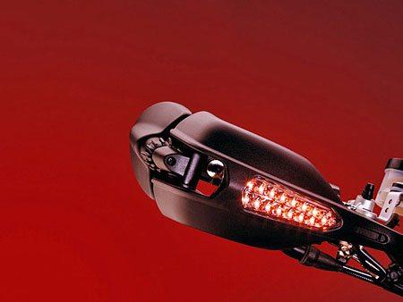 Ducati Hypermotoard - Mirror, Folded
