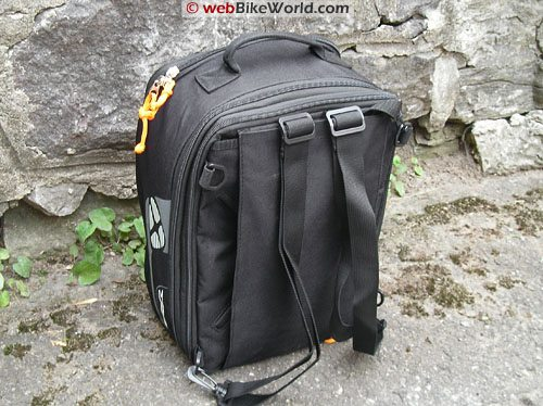 Ixon X Pand Tank Bag - Backpack Conversion, Bottom View
