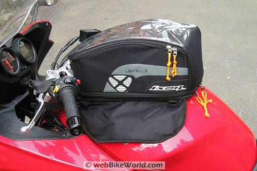 Ixon X Pand Tank Bag - Unexpanded
