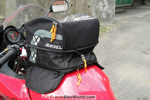 Ixon X Pand Tank Bag - Middle Expansion