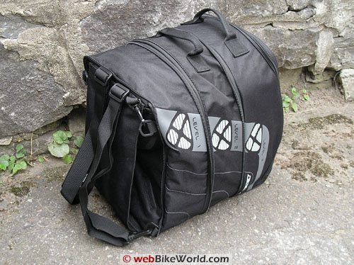 Ixon X Pand Tank Bag - Backpack Conversion, Top View