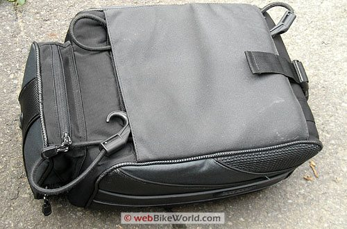 Rapid Transit Motorcycle Tail Bag - Bungee Storage Under Bag