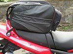 Rapid Transit Motorcycle Tail Bag - Side View