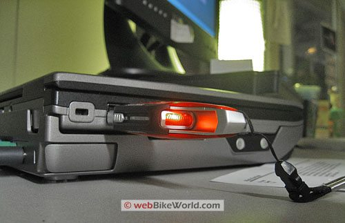 SanDisk Ducati Extreme USB Flash Drive - Rear Light Glows When Drive is Active
