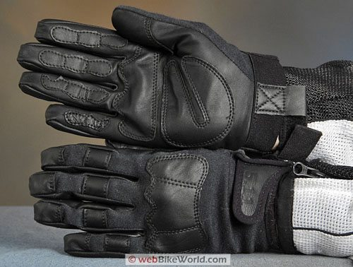 Tactical Gloves - Tac-AK, Top and Bottom