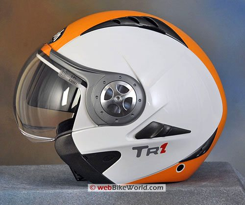 Airoh TR1 Motorcycle Helmet - Chin Guard Removed