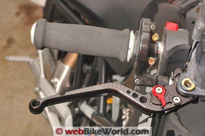 Pazzo Adjustable Motorcycle Levers - Front Brake Lever