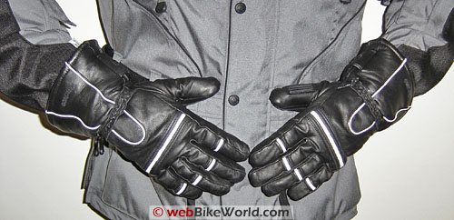 Olympia Gore-Tex Gloves Front