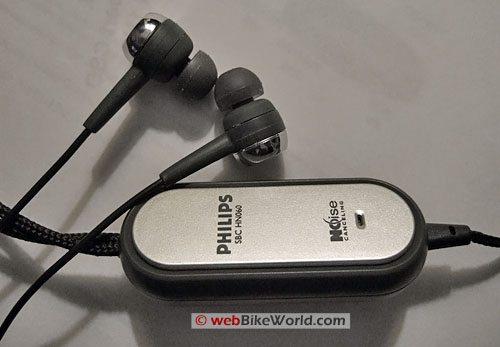 Phillips Active Noise Cancellation Earphones - Control Box
