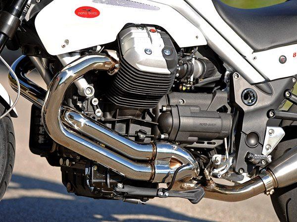 2008 Moto Guzzi Griso 8V Engine