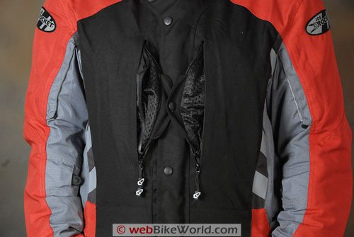 Joe Rocket Ballistic 7.0 Jacket - Front Chest Vents