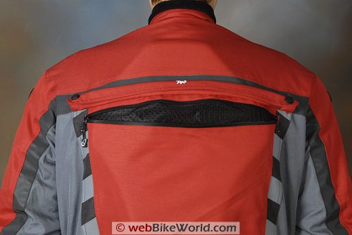 Joe Rocket Ballistic 7.0 Jacket - Rear Vent
