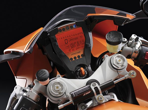 KTM RC8 - Dashboard and Instruments