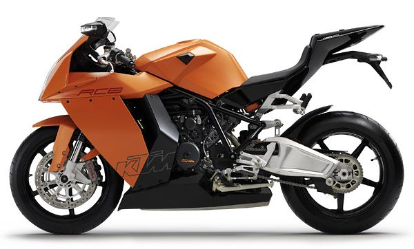 KTM RC8 - Left Side