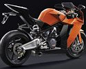 KTM RC8 - Rear Quarter View