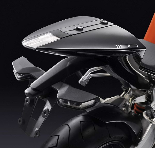 KTM RC8 - Rear Tail Section
