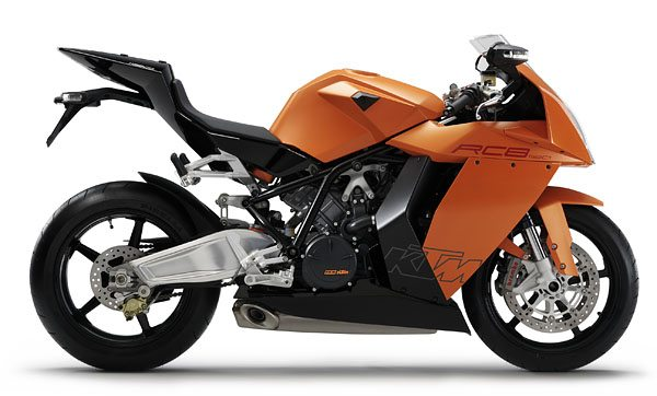 KTM RC8 - Right Side