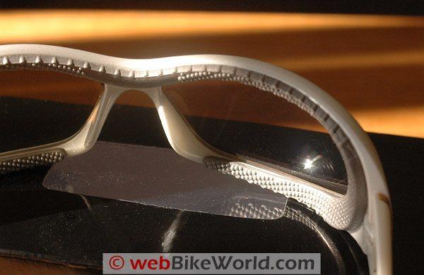 Women's Motorcycle Sunglasses - Panoptx Zephyr AirDam Lining