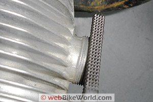 R65 exhaust collar