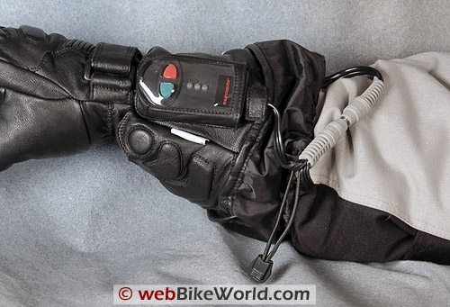 Tourmaster Synergy Gloves - Controller and Wires