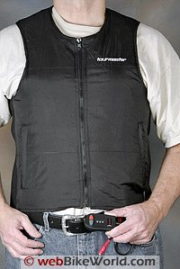 Tourmaster Synergy Heated Vest - Front View