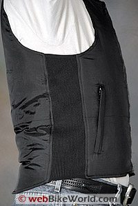 Tourmaster Synergy Heated Vest - Side View