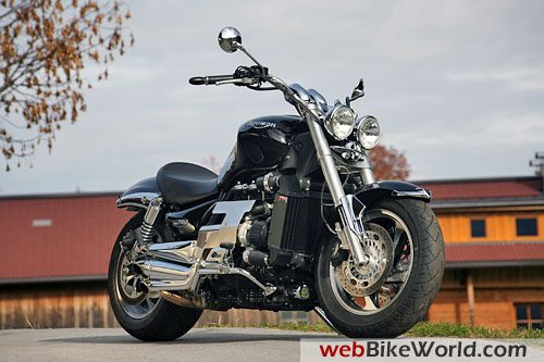 Triumph Rocket 3 Turbo - Front View