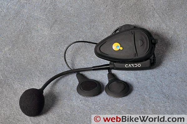 Cardo Systems Scala Rider TeamSet Motorcycle Bluetooth Intercom Comfort Kit