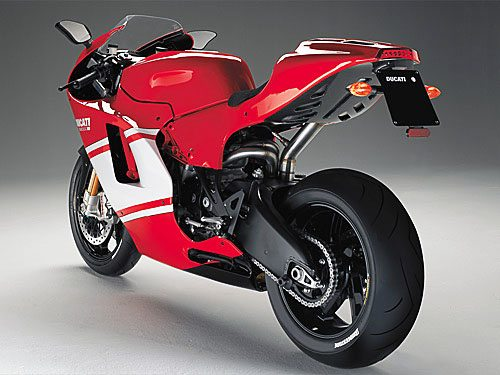 Ducati RR - Rear View