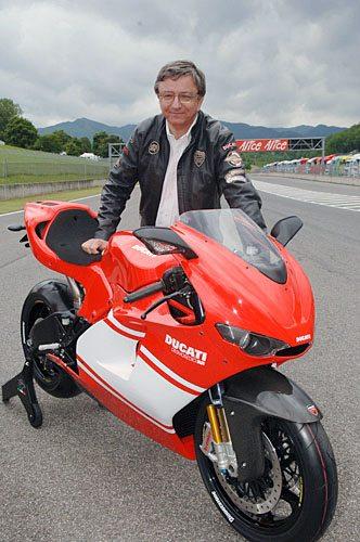Ducati RR on Track