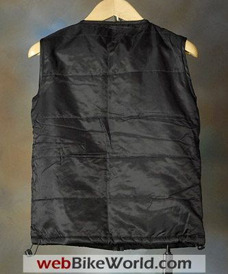 Jett Battery Heated Vest - Rear View