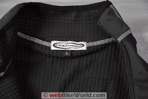 "Knox ""Cold Killers"" Sport Top - Close-up of Collar"