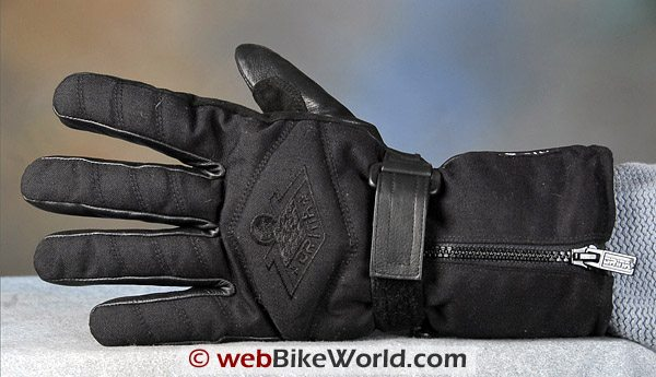 Orina 118 Motorcycle Gloves - Back Side