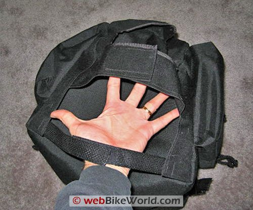 Luggage Locker Elite Seat Sack Motorcycle Tail Bag - Straps